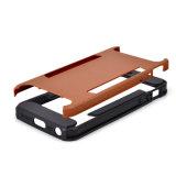 Caisse dure de téléphone de couverture arrière de PC d'armure duelle de couche pour Samsung S3