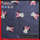 Tessuti del denim del cotone stampati fumetto popolare per i bambini