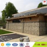 Gabion 돌 감금소 벽 또는 Gabion 옹벽