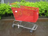 Chariot à achats/caddie en plastique/type américain