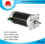 motor sin cepillo de la C.C. del motor redondo del motor eléctrico del motor de 57bly06 BLDC