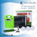 Jogos portáteis da iluminação da energia solar com lâmpada solar Gdlite