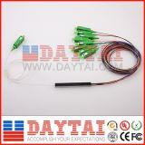 12 표준 색깔 1X8 광섬유 PLC 쪼개는 도구