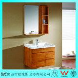 Cabina de cuarto de baño montada en la pared del roble del Multi-Cajón