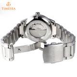 In het groot Gemerkt Horloge 72612 van de Mensen van het Roestvrij staal van de Ontwerper van het Kristal
