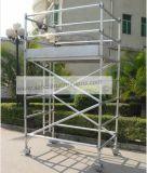 安全なセリウムによって修飾されたアルミニウム足場は装飾のために傾斜した