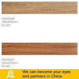 Telha de madeira 150X900mm da porcelana do estilo norte-americano rústico