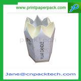 Contenitore di regalo di carta impaccante delle caselle della candela su ordinazione con ISO9001