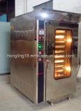 Digital de 12 bandejas de convección, Comercial rejilla del horno con carro