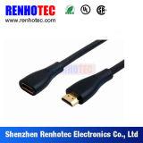 HDMI高速完全なHDMIケーブルの黒