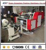 Горизонтальный тип крен бумаги разрезая перематывать машину (DC-HF1100)