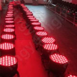 LEIDEN van de Decoratie van het Stadium van Kerstmis 120X3w van de Verlichting RGBW van DJ PARI