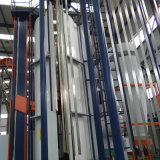 Ligne d'enduit verticale en aluminium