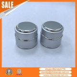 silberner kosmetischer Aluminiumbehälter 30g für Feuchtigkeitscreme-Sahne