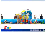 Ozean themenorientiertes Todder Innenspielplatz-Gerät mit aufblasbarem