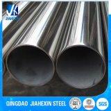 Carbono preto Senhora laminada a alta temperatura soldada tubulação de aço