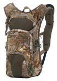 Pacchetto di caccia della cinghia registrabile di Camo di sport esterni con la vescica di idratazione