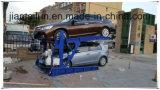 Sistema di parcheggio dei due alberini che inclina la strumentazione di parcheggio