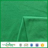 Tela polar do velo do Knit FDY do uso do vestuário do fabricante de matéria têxtil de Zhejiang