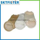 Bolso de filtro del fieltro de la aguja de los PP para los sectores de filtración líquida