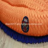 Het blauwe Zachte Warme Kussen van het Huis van het Beddegoed van de Kat van de Hond van het Bed van het Huisdier