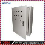 Casella di distribuzione esterna ottica personalizzata del metallo della fibra di 50 accoppiamenti