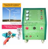 Оборудование машины провода электрической дуги распыляя для компонентов ветротурбин стальных покрывая термально брызг Processings