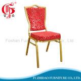 Silla roja del banquete de los muebles del hotel de lujo para el banquete de boda