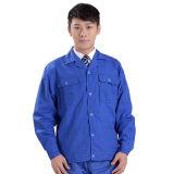 Uniforme ocasional azul do trabalho do Workwear por atacado dos homens