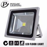 100lm/W luz de inundação ao ar livre do diodo emissor de luz de 50 watts para o estádio
