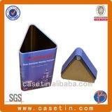 Dreieckiges geformtes Geschenk-Zinn für Geschenk-Verpackungs-Chinesen