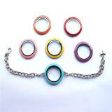 Pulsera flotante de cristal redonda del Locket de los nuevos diseños para los encantos