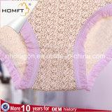 Ropa interior atractiva Panty de las señoras de la impresión del leopardo del cordón