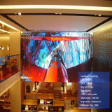 Pantalla de visualización de interior a todo color de LED de la alta calidad P4.8 para la pared del vídeo del LED