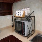Cremagliera della mensola del Governo del contatore di cucina della mensola del forno a microonde del metallo