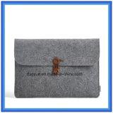 Junge-Entwurfs-neues Material 70% der zufriedenen Wolle-Filz-Laptop-Hülse, kundenspezifischer beweglicher Laptop-Aktenkoffer-Beutel mit TasteClosing
