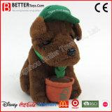 Perro de juguete suave material seguro del animal relleno