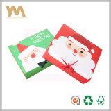 Caja de embalaje del regalo de la Navidad con la cinta