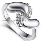 Anillos de metal de la joyería de la manera del acero inoxidable