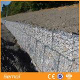 Casella galvanizzata all'ingrosso della Cina Gabion per il muro di sostegno