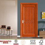 Modèle en bois de porte de placage intérieur moderne (GSP8-019)