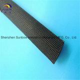 Hochtemperatur500c und hitzebeständiges umsponnenes Fiberglas-elektrische Isolierung Sleevings