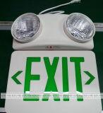 Luz 220V recargable de la salida de emergencia del LED