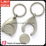 Держатель Keychain&#160 монетки высокого качества изготовленный на заказ; с логосом