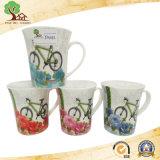 Caneca de café cerâmica colorida material de /10 onça do Eco-Amigo de China