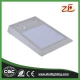6watt IP65 Waterproof a luz solar clara do diodo emissor de luz da luz do jardim da parede