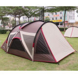 Im Freiensonnenschutz-wasserdichtes kampierendes Strand-doppeltes UVfamilien-Zelt
