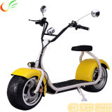 Зеленый перемещая мотоцикл электрических кокосов города самоката электрический