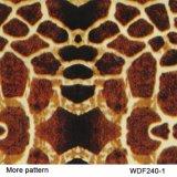 Kingtop Tierhaut-Drucke Deisgn 1m breit bedruckbarer hydrografischer Film des Wasser-Übergangsdrucken-PVA für das hydroeintauchen mit PVA Material Wdf642-3