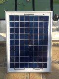 15W autoguident le panneau solaire polycristallin solaire du système d'alimentation picovolte